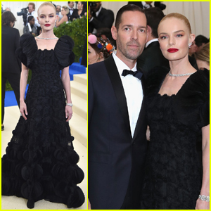 Kate Bosworth Couples Up With Husband Michael Polish at Met Gala 2017