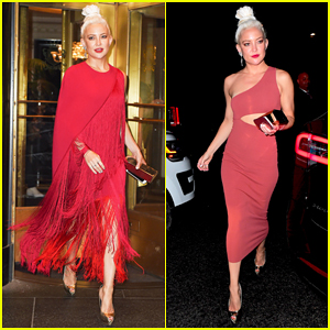 Kate Hudson Rocks Two Different Looks For Met Gala After Parties 2017!