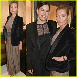 Kate Moss Celebrates Launch of Her Ara Vartanian Collaboration