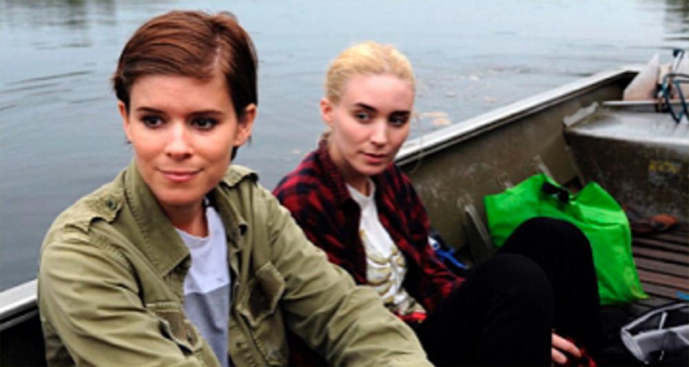 Kate & Rooney Mara Celebrate Saved Chimpanzees in Liberia ...