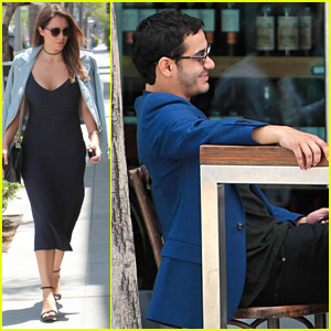 Katharine McPhee Lunches with Elyes Gabel on His Birthday