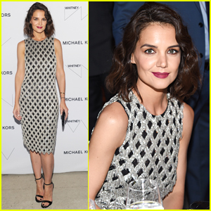 Katie Holmes Shines at Whitney Museum Gala in NYC