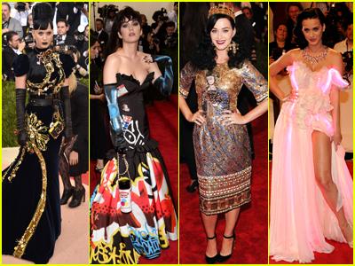 Katy Perry's Daring Past Met Gala Looks