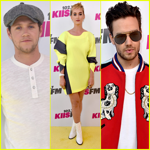 Katy Perry Joins Niall Horan & Liam Payne at Wango Tango