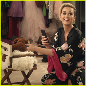 Katy Perry & Her Adorable Pup Nugget Make Their Commercial Debut!