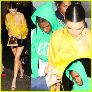 Kendall Jenner & A$AP Rocky Party Together After Met Gala