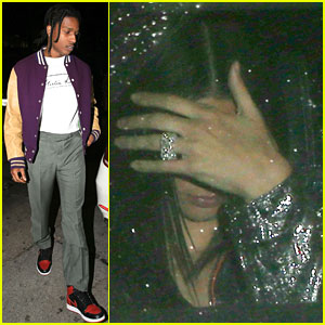 Kendall Jenner & A$AP Rocky Hit Up Same Party as Her Ex Jordan Clarkson