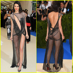 Kendall Jenner Leaves Little to the Imagination at Met Gala 2017