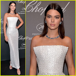 Kendall Jenner Shines Like a Diamond at Chopard Space Party