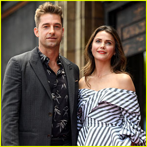 Keri Russell Reunites with Scott Speedman at Hollywood Walk of Fame Ceremony