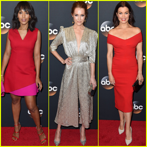 Kerry Washington & 'Scandal' Cast Celebrate the Series at ABC Upfronts Presentation