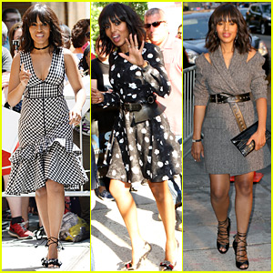 Kerry Washington Wraps 'Scandal' Season 6 Promo in Three Fashionable Looks!