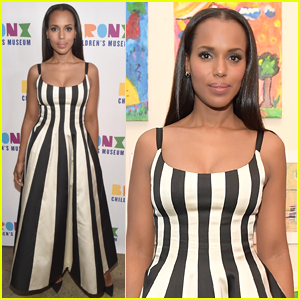 Kerry Washington Steps Out to Support the Bronx Children's Museum