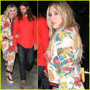 Kesha & Boyfriend Brad Ashenfelter Enjoy Date Night in L.A.