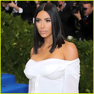 Kim Kardashian Explains Kanye West's Absence at Met Gala 2017