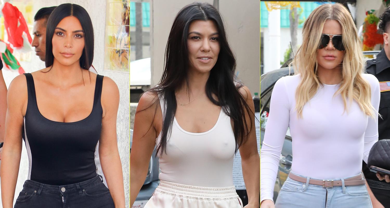 foto Khloé, Kourtney, and Kim Kardashian Got into a Heated Twitter Fight During KUWTK