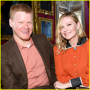 Kirsten Dunst & Jesse Plemons Couple Up at Gucci Show