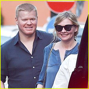 Kirsten Dunst & Fiance Jesse Plemons Go Shopping in Italy