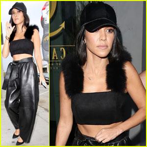 Kourtney Kardashian & Younes Bendjima Are 'Not Serious Yet'