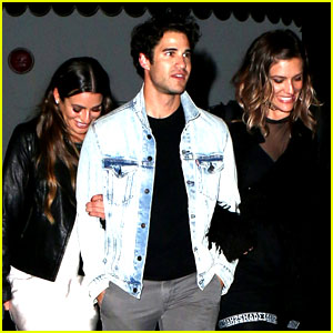 Lea Michele Third Wheels with Darren Criss & His Girlfriend
