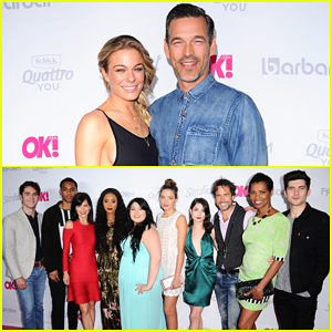 LeAnn Rimes, Eddie Cibrian & 'Famous In Love' Cast Live It Up At OK! Mag Summer Kick Off!