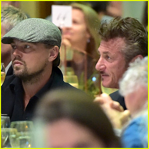 Leonardo DiCaprio Supports Sean Penn at Haiti Takes Root Dinner