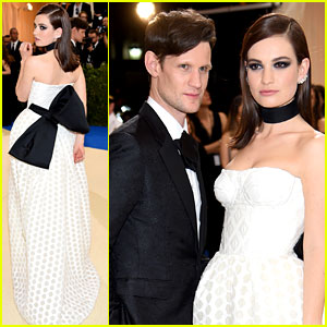 Lily James & Matt Smith Couple Up at Met Gala 2017!