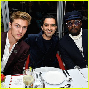 Lucky Blue Smith & will.i.am Celebrate 'The Business of Fashion'