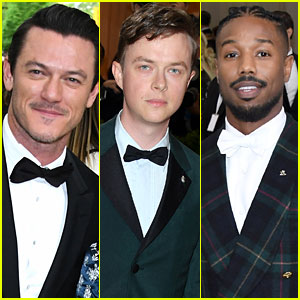Luke Evans, Dane DeHaan & Michael B. Jordan Sizzle at the Met Gala 2017