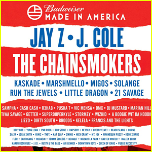 Made In America Festival 2017 Lineup Announced: Jay-Z, The Chainsmokers, Solange & More!
