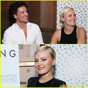 Malin Akerman Gets Support From New Beau Jack Donnelly At 'Haute Living' Celebration!
