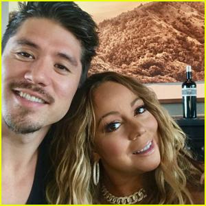 Mariah Carey & Bryan Tanaka Jet to Napa For Holiday Weekend