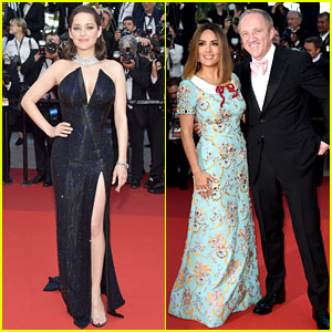 Marion Cotillard & Salma Hayek Have Girl Power in Cannes!