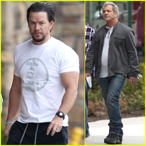 Mark Wahlberg & Mel Gibson Continue Working on 'Daddy's Home 2'