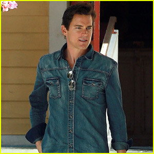 Matt Bomer's Friend Gifts Him with a Superman 'Birthday Bag'