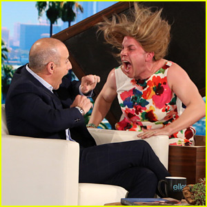 Matt Lauer Receives Huge Scare on 'Ellen' - Watch Now!
