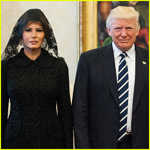 Donald & Melania Trump Photographed Holding Hands After Viral Video