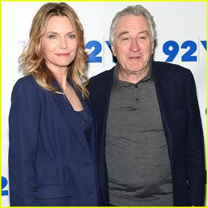 Michelle Pfeiffer & Robert De Niro Talk 'The Wizard of Lies' in NYC