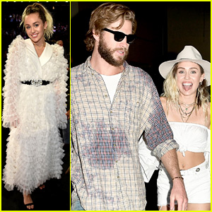 Miley Cyrus Had Liam Hemsworth's Support Backstage at Billboard Music Awards 2017!