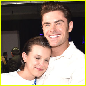 Zac Efron & Millie Bobby Brown Share a Fangirl Moment at MTV Movie & TV Awards