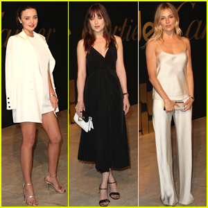 Miranda Kerr, Dakota Johnson, & More Go Glam for Cartier Party