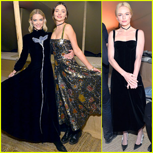 Miranda Kerr & Jaime King Doll Up for Dior Cruise Show