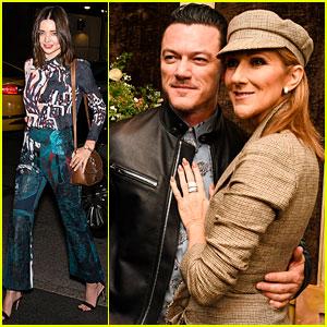 Miranda Kerr & Luke Evans Celebrate 'Harper's Bazaar' Anniversary Ahead of Met Gala