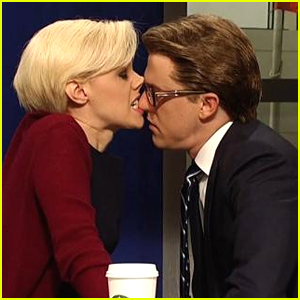 'Morning Joe' Co-Hosts Mika Brzezinski & Joe Scarborough Get Hot & Heavy on 'SNL' - Watch!
