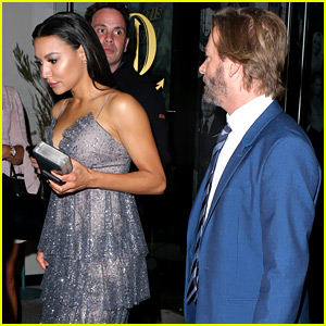 Naya Rivera Meets Up with David Spade for Date Night!