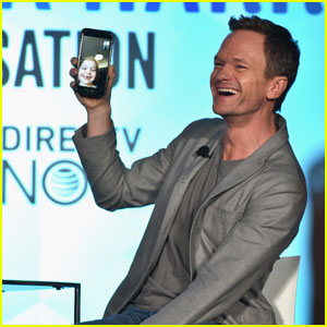Neil Patrick Harris Facetiming His Kids On Stage is the Cutest Thing You'll See All Day