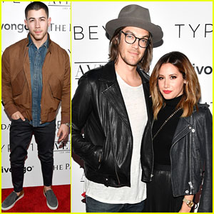 Nick Jonas & Ashley Tisdale Step Out For Beyond LA Cocktail Party