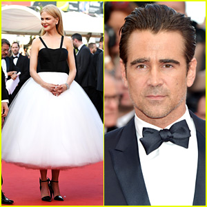 Nicole Kidman Channels a Ballerina Alongside Colin Farrell at Cannes Film Festival Premiere