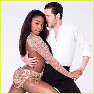 Normani Kordei & Val Chmerkovskiy Get Another Perfect Score on 'DWTS' - Watch Now!