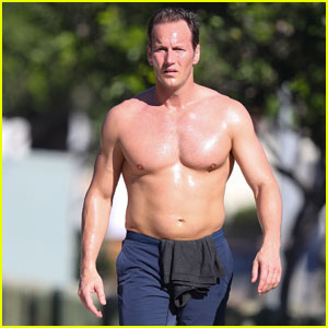 Aquaman's Patrick Wilson Goes Shirtless For Sweaty Jog